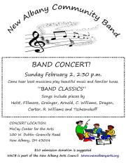 Bill-2014 Feb Concert